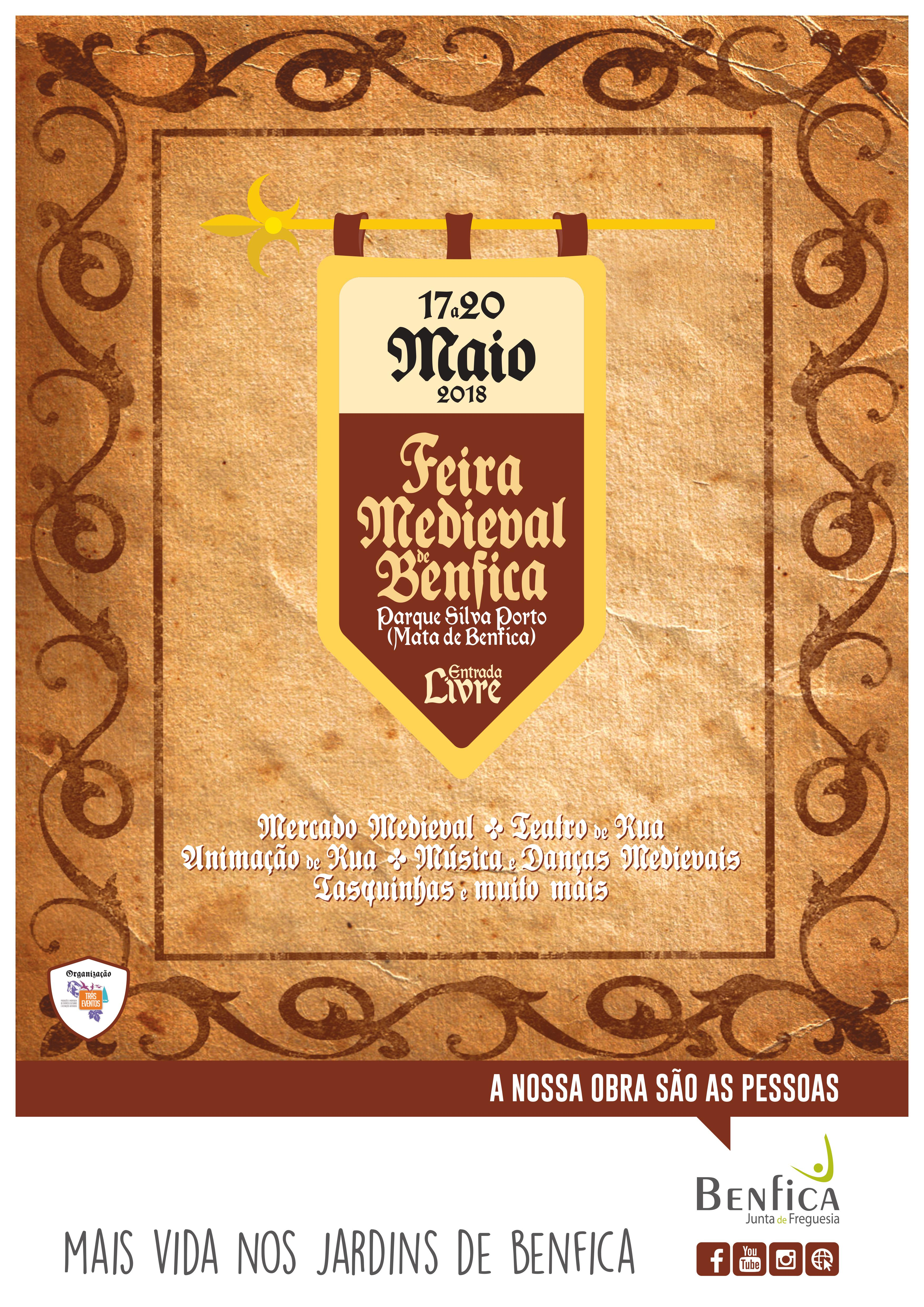 Poster Feira Medieval de Benfica 2018 f24b0c57f37c4