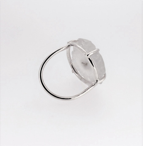 Helen Upton. Silver and agate ring