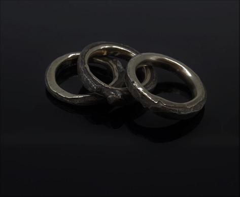 Rings. Steel.