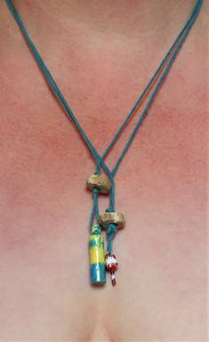 Buoys necklaces.