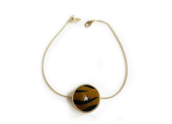 ANNA MACCIERI ROSSI Wild Adjustable Bracelet front view.