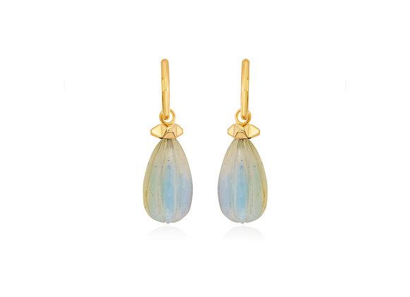 ISHARYA Moonstone Drop Earrings