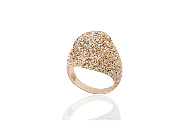 MIMIA LEBLANC Opulent Mood Ring Front View