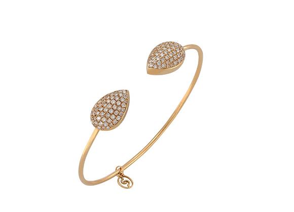 CÉDILLE Bracelet Drops front view.