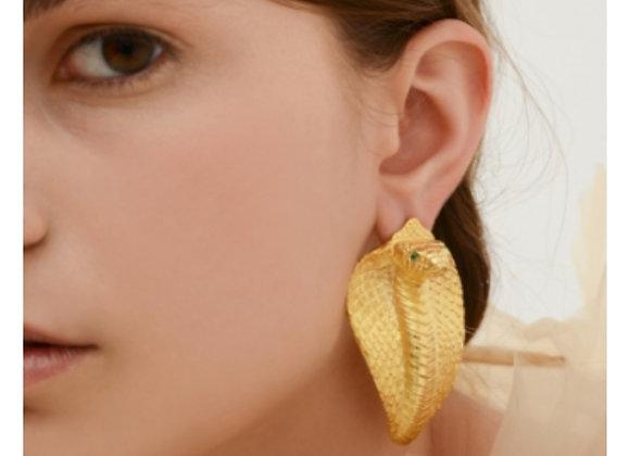 NATIA X LAKO Cobra Earrings