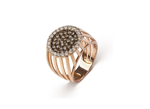 CÉDILLE Cage Ring front view.