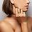 TSURA Cowrie Talisman Ring worn.