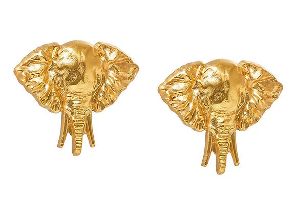 NATIA X LAKO Elephant Earrings front view