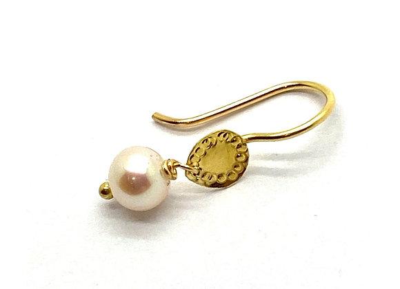 SAIKI Perle Earring front view