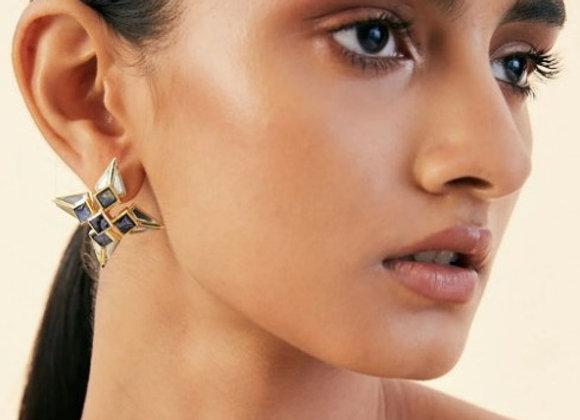 ISHARYA Mother of Pearl Stud Earrings