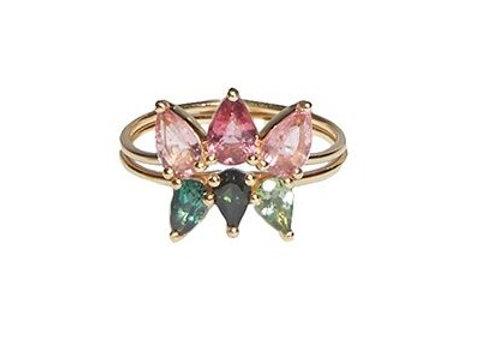 TSURA Lotus Ring