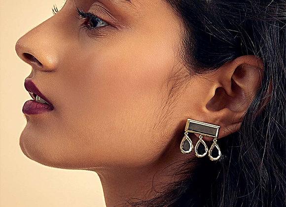 ISHARYA  Mirror Drop Earrings