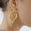 Thumbnail: NATIA X LAKO Round Snake Earrings