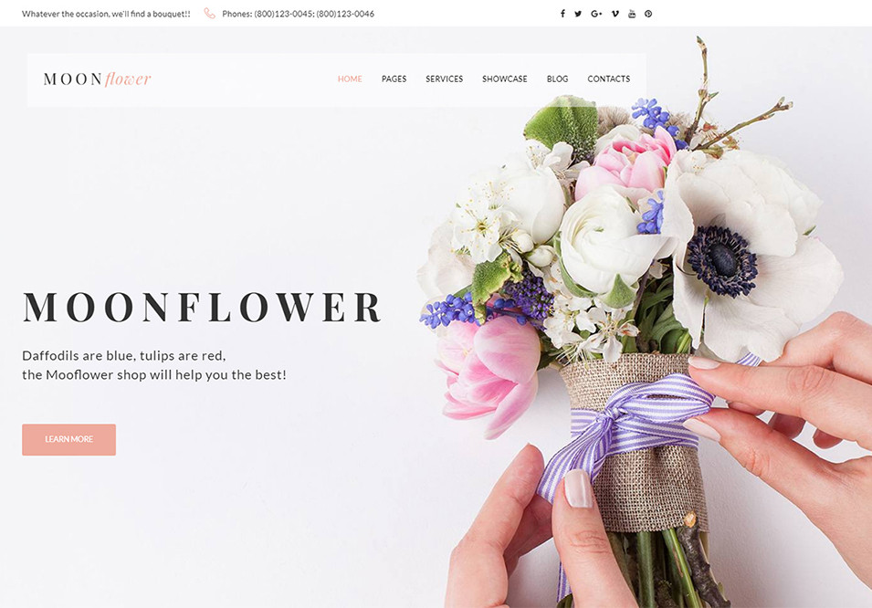 15 Beautiful Flower ecommerce Templates For Spring Mood