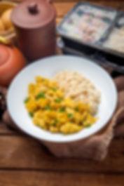 Food Menu Rice Box