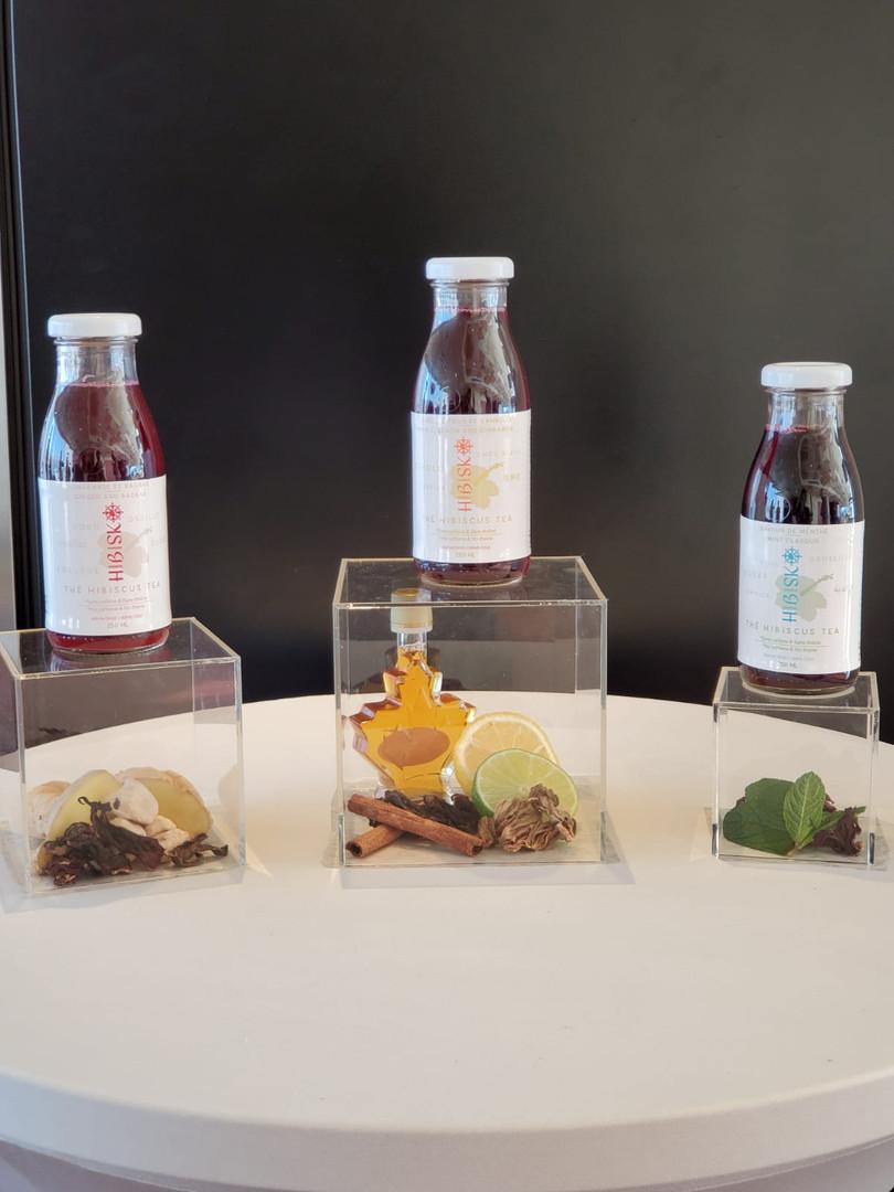 Trois saveurs qui ne laissent pas indifférent!  Hibisko présente ses nouveaux emballages!