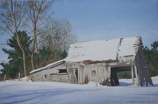 Painting the Winter Landscape in Watercolor with Robert O'Brien