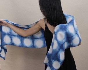 Shibori Dying: Playing with Pattern and Indigo with Suzanne Watzman