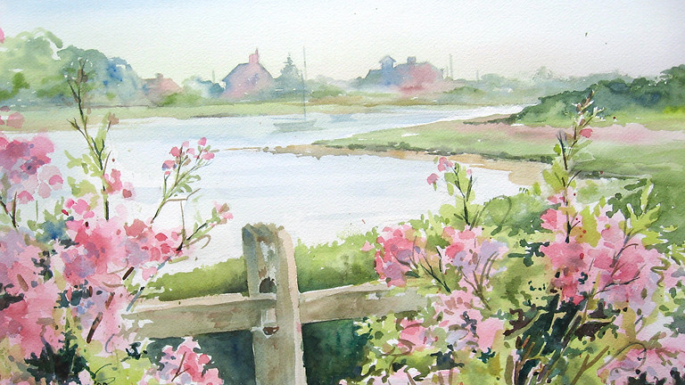 Get Up and Go with Watercolors with Susan Nordhausen