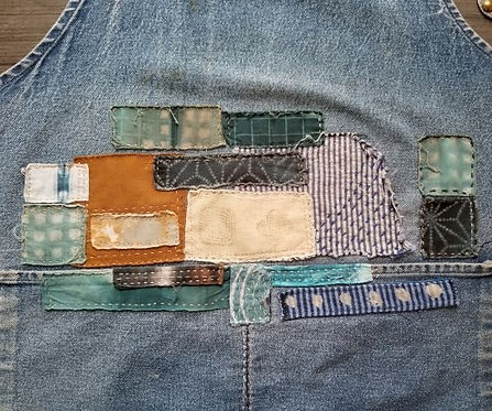 Boro Inspired Mending and Embellishment with Cheryl Moreau