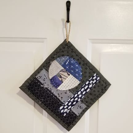 Boro Inspired Handstitched Hotpads with Cheryl Moreau