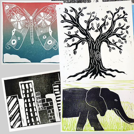 Printmaking for Middle Schoolers with Anne Nydam