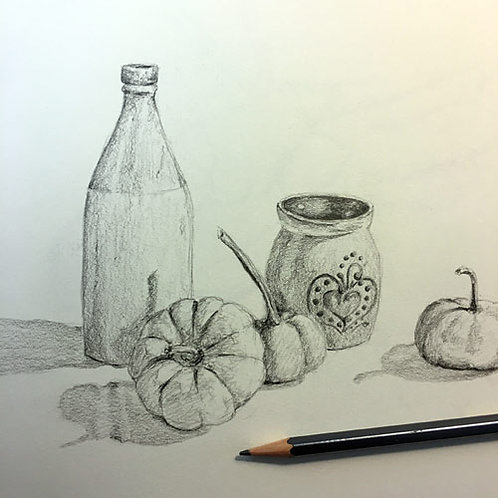 Pencil Drawing: Techniques with Susan McFarlane