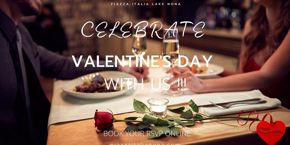 Celebrate Valentine's Day with us !!!