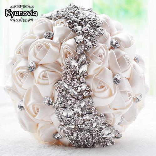 Kyunovia Crystal Wedding Bouquet