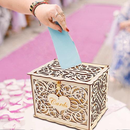 Rustic Wedding Card Box Wedding Decoration