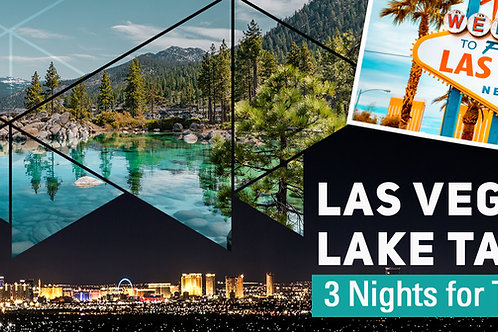 Las Vegas or Lake Tahoe Experience for 2 adults