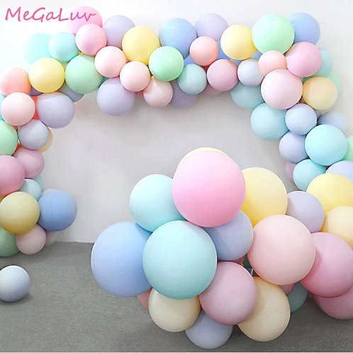 30pcs 5/10 Inch Macarons Latex Balloon Birthday Party