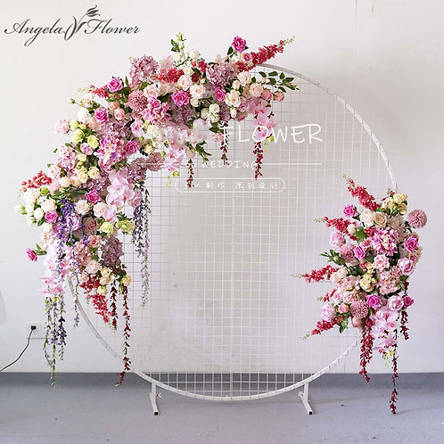 Custom European Wedding Arch Decor | Wedding Background Flower Wall