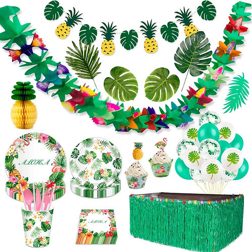 FENGRISE Hawaiian Party Decorations