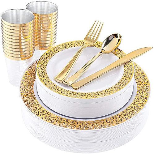 60pcs Tableware Plastic