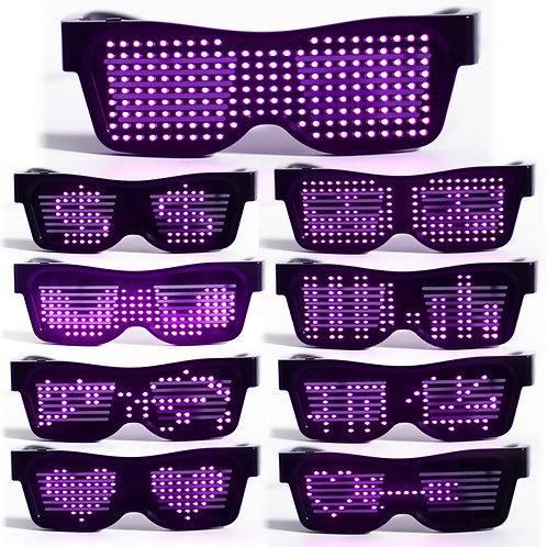 LED Display Glasses