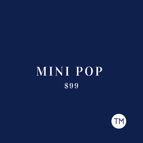 MINI POP PACKAGE