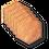 "Thumbnail: Wooden Coasters 4"" (18 Shape / Wood Options) 4-Pack"