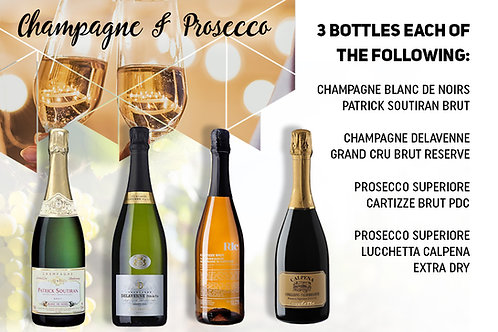Champagne & Prosecco Package
