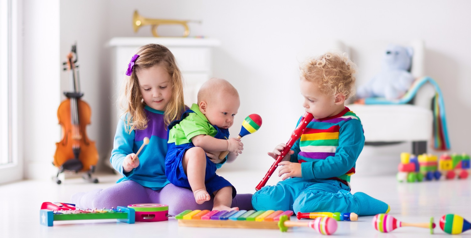 Music For Kids, Children With Instruments_edited