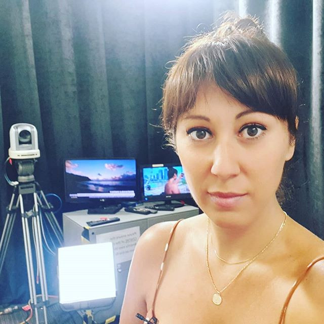 Back at ABC Brisbane studio's for Weeken