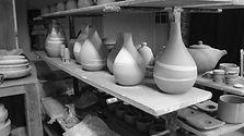 Atelier de poterie d'Hélène Bénéteau à Mouchamps à 15 minutes de la Métairie du Bourg