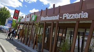 devanture restaurant pizzeria Jardin du Lavoir Les Herbiers