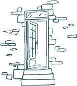 dessin pour illustrer période d'ouverture des chambres d'hôtes de la Métairie du Bourg aux Herbiers