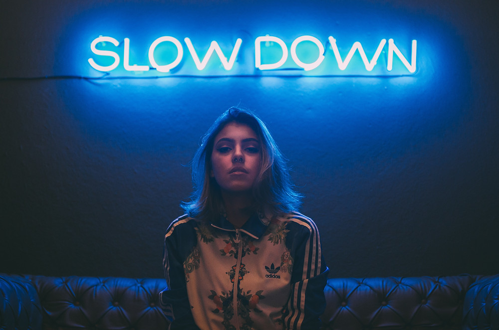 Slow down with a massage