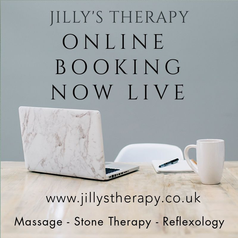Book now at Jilly's Holistic Therapy