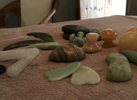 Stones... luxurious, relaxing & uplifting
