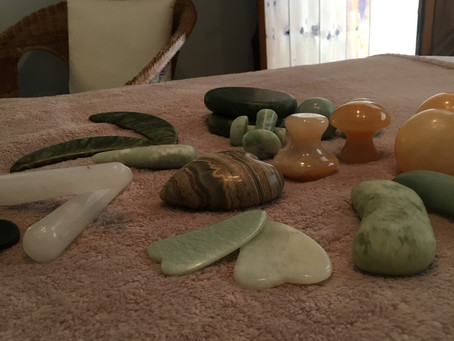 Stones... luxurious, relaxing & uplifting