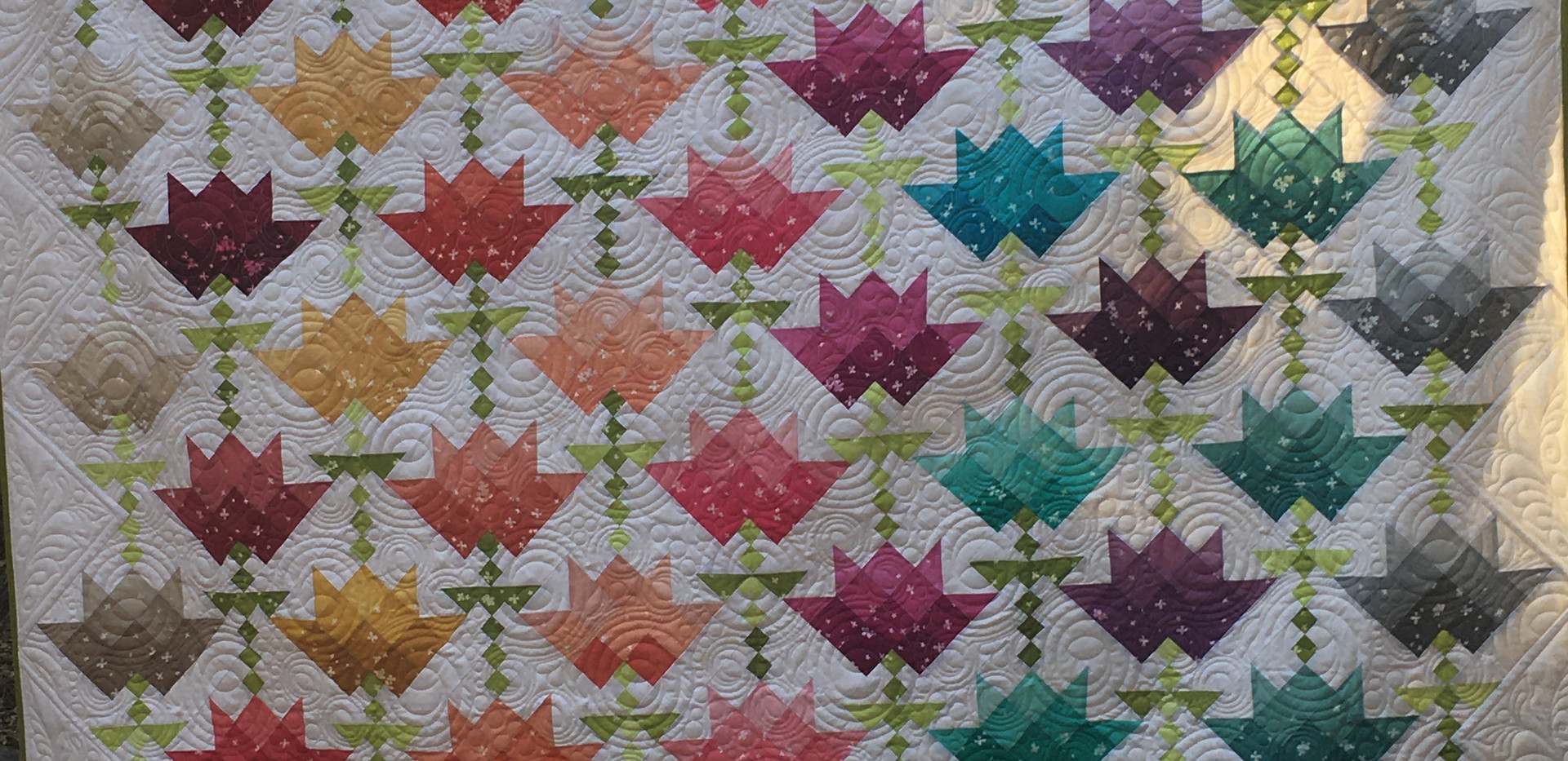 2021 Blooming Rainbow Opportunity Quilt