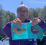 Patty Spinelli - Show and Tell - Block of the Month with Sue Spargo